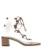 Aquazzura Pvc & Cuir Leather Sandals - Cuir