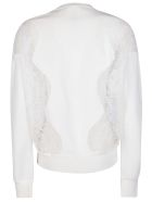 Givenchy Lace Panels Sweatshirt - White
