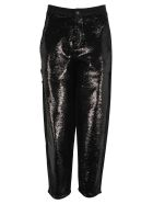 Philosophy di Lorenzo Serafini Philosophy Sequin Trousers - BLACK