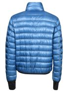 Moncler Classic Hooded Padded Jacket - Turchese