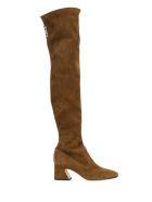 Alberta Ferretti Cuissard Boots - Beige