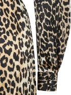 Ganni Long Dress - Leopard
