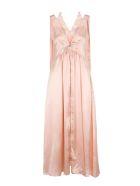 Stella McCartney Stella Mccartney Satin Dress - CHALK PINK