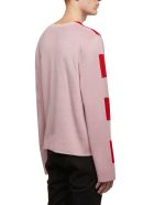 Craig Green Striped Jumper - Rosa rosso