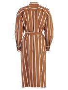 SEMICOUTURE Striped Dress - Riga Tegola