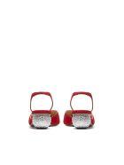Paul Andrew Rhea Ankara Slingback Pumps - Rosso