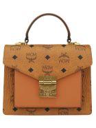 MCM Patricia S Handbag - Cognac