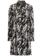 N.21 Animalier Coat - STAMPA FONDO BIANCO (White)