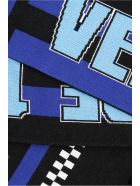 Versace Team 1978 Scarf - BLUE MULTI|Nero