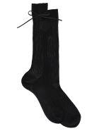 Prada Bow Sock - Black
