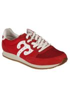 Wushu Ruyi Lace-up Sneakers - Red/white
