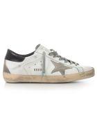 Golden Goose Sneakers - White Black Cream Metal Lettering