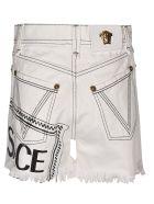 Versace Logo Print Shorts