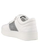 Jimmy Choo Sneakers - White silver