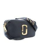Marc Jacobs 'softshot 21' Leather Shouder Bag - Black