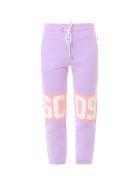 GCDS Trousers - Purple