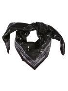 Alexander McQueen Splat Print Scarf - Black