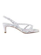 Ash Kitty Sandals - White