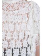 Isabel Marant Étoile Vetea Blouse In White Cotton - white