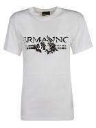 Ermanno Scervino Metallic Logo T-shirt - white