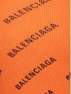 Balenciaga Top - Orange/black