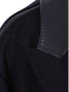Max Mara 'mina' Wool Coat - Blue