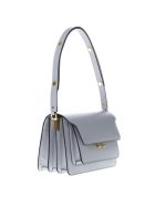 Marni Ice Trunk Bag In Saffiano Calfskin - Ice