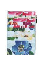 Dolce & Gabbana Vertical Credit Card Holder - Fioriombrefazzurro