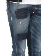 Philipp Plein Super Straight Cut Hexagon Jeans - JAGUAR