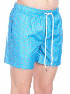 Fefè 'barchette' Swimshort - Light blue