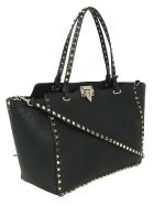Valentino Garavani Medium Tote Bag - Nero