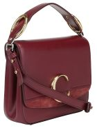 Chloé Small Square Shoulder Bag - Burnt mahogany