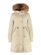 Woolrich Cascade Parka With Removable Padding - Beige