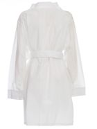 Maison Margiela Dress L/s Cotton Popeline - White