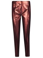 Victoria Beckham Straight Leg Trousers - Copper