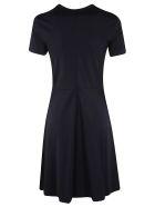 RED Valentino Short Sleeved Dress - blue