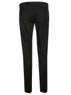 Christian Dior Off Center Fastening Trousers - Black
