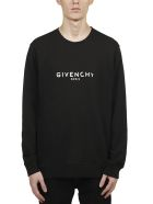 Givenchy Paris Logo Vintage Sweater - Nero bianco
