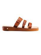 Valentino Garavani Slide Sandals - Mu Tan