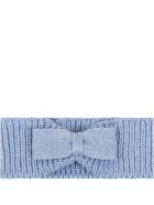 Little Bear Light Blue Headband For Babygirl - Light Blue
