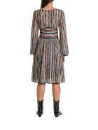 Missoni Striped Knitted Dress - Multi