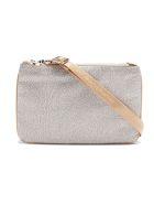 Borbonese Shoulder Bag Small - Beige