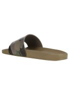Valentino Garavani Slides - Army green/brush wood