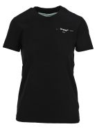 Off-White Off White Hanna Leaves Tshirt - Black