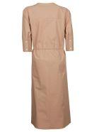 Jil Sander Navy Tie Waist Dress - Basic