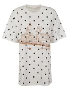 Golden Goose Dotted Printed T-shirt - White/venice