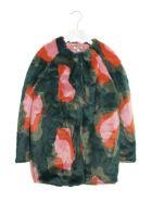 Kenzo Kids 'gine' Coat - Multicolor