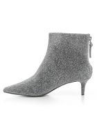 Kendall + Kylie Ankle Boots Short - Silver Sparkle
