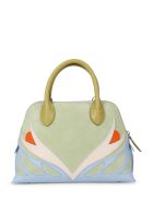 Lanvin Patchwork Dolly Parrot Bag S - Ice