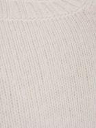 Drumohr Sweater Crew Neck Geelong - Panna